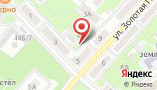 Апартаменты Zalataja Apartment на карте