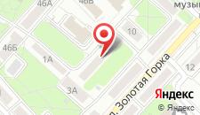 Апартаменты Золотая Горка на карте