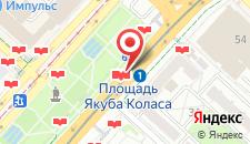 Апартаменты Апартаменты Минск24 на карте