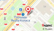 Апартаменты Ольга студия на Независимости на карте