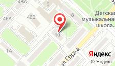 Апартаменты на Мулявина 10 на карте