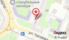 Апартаменты На Берестянской на карте