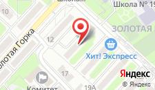 Апартаменты Vip-kvartira Zolotaya Gorka 14 на карте