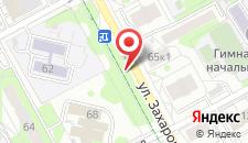 Апартаменты Захарова на карте