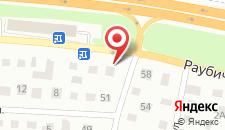Отель Валео на карте