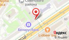 Апартаменты Дозари на карте