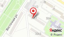 Апартаменты на Восточной 32 на карте