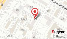 Апартаменты Molnar Apartments Kaliningradsky Pereulok на карте