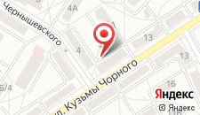 Апартаменты Studio na Kuz'my Chornogo, 11 на карте