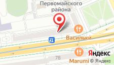 Апартаменты БораБора на карте