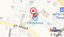 Гостиница Планета на карте
