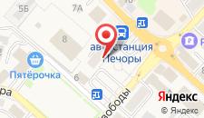 Апартаменты На Площади Победы на карте