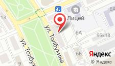 Апартаменты на Толбухина на карте