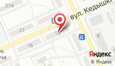 Апартаменты Хорошие на Кедышко 18 на карте