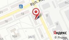 Апартаменты Апартаменты на Волгоградской на карте