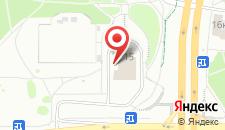 Отель Арена Минск на карте