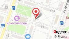 Апартаменты Гостиминск2 на карте