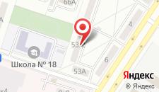 Апартаменты На Народной на карте