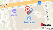 Мини-отель Арль на карте