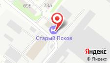 Мини-гостиница Старый Псков на карте