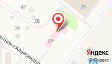 Отель Милена на карте
