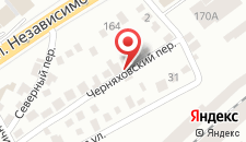 Гостиница Dodo на карте