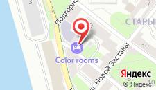 Гостиница VYBORGHOSTEL на карте
