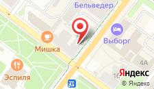 Апарт-отель Ульберг на карте