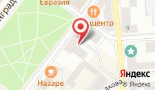 Мини-гостиница Вера на карте