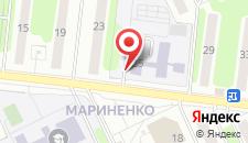 Апартаменты на Мариненко на карте