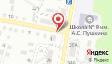 Апартаменты на Зыгина на карте