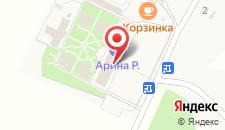 Отель Арина Р на карте