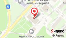 Гостиница Дружба на карте