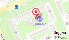 Гостиничный комплекс Динамо на карте