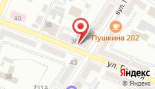 Апартаменты PaulMarie на Пушкина на карте