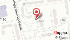 Апартаменты Ночлег Сервис на карте