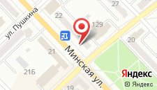 Апартаменты Орхидея на Минской 20 на карте