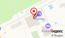 Загородный отель Райвола на карте