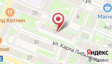 Апартаменты Евгения на карте