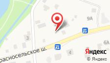 Коттедж Отдых на карте