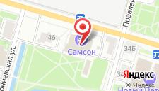 Отель Самсон на карте