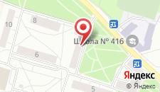 Семейный отель Уютный Петергоф на карте