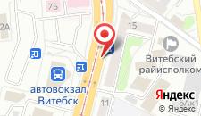 Апартаменты на улице Космонавтов 13 на карте