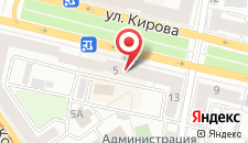Апартаменты PaulMarie на Кирова 5 на карте