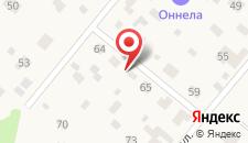 Мини-отель Оннела на карте