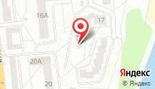 Апартаменты Vitebsk на карте