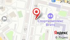 Апартаменты Витебск на карте