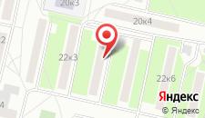 Апартаменты На Черняховского на карте