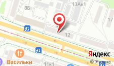 Апартаменты Москва на карте