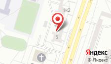 Апартаменты на Чкалова 1 на карте
